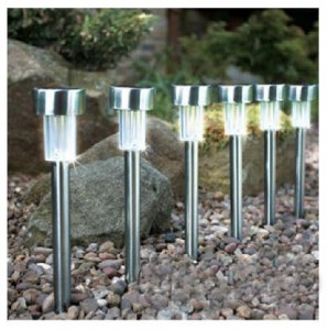 Stainless Steel Solar Garden Lights