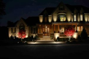 Solar Facade Lighting