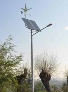Solar comercial light